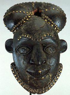 Cameroon; Bamileke peoples  Mask