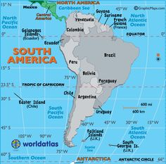 Large map of africa easy to read and printable maps pinterest map of south america gumiabroncs Images