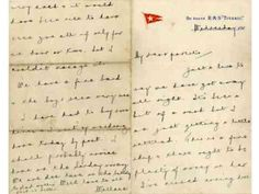 Titanic band leader's letter to bring $92,500 ahead of violin sale