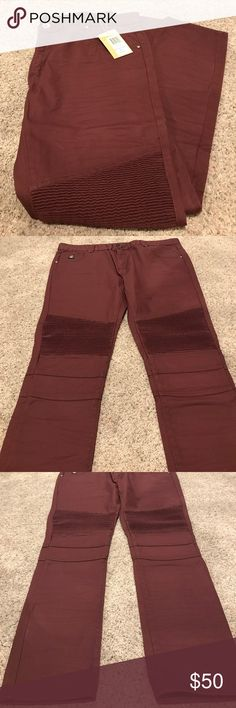 Men's Burgundy wax DNM Collection Slim Fit Jeans Men's Burgundy wax DNM Collection Slim Fit Denim Jeans; New with tags; size 40; inseam 34; 100% cotton Jeans