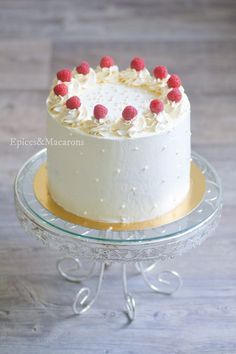 Layer Cakes, Vanilla Cake, Marie, Food And Drink, Birthday Cake, Sweets, Cake, Recipes, Gummi Candy
