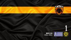 AEK Athens - Veja mais e baixe de graça em nosso Blog http://soccerflags.blogspot.com.br/