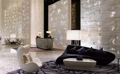 Four Seasons Hotel in Guangzhou, China | Hotel Lobby Interior Design