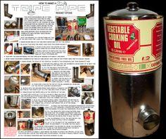 Tripe Pipe rocket stove Rocket Mass Heater, Build Stuff, Rocket Stoves, Fire, Cooking, Kitchen, Cuisine, Koken, Brewing