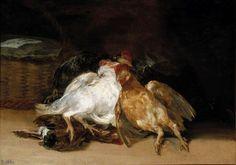 Francisco Goya, Aves muertas (Dead Birds), 1812