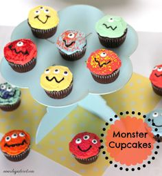 Cooking with Kids: Monster Cupcakes