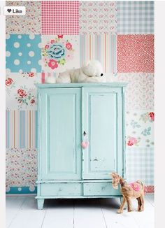 Pastel baby wardrobe / Pastelowa szafa