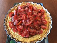 Cookie's #Thermomix Tomato and Goat's Cheese Tart Recipe