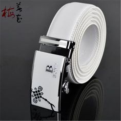 Aliexpress.com : Buy Best Men'S Belt Luxury Brand Designer Chinese Knot Automatic Buckle Waist Belt Man High Quality  Genuine Leather White Strap from Reliable leather strap watch men suppliers on YanYang International Company Ltd.  | Alibaba Group Luxury Branding, Branding Design, Waist Belts, Alibaba Group, A Good Man, Watches For Men, Knot, Chinese, Leather