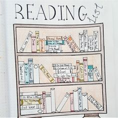 Reading Tracker   Bullet Journal   A selection of great bullet journal tracker ideas for keeping up with the books, movies and TV shows you want to read and see! Track all your entertainment options with these spreads.