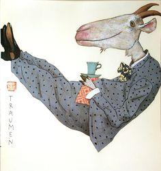 Illustratie van Wolf Erlbruch