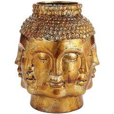 Foil Buddha Vase
