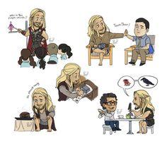 Team Thor by pencilHeadno7.deviantart.com on @DeviantArt