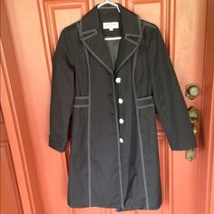 Michael Kors trench coat Worn once excellent condition no rips no stains Michael Kors Jackets & Coats Trench Coats