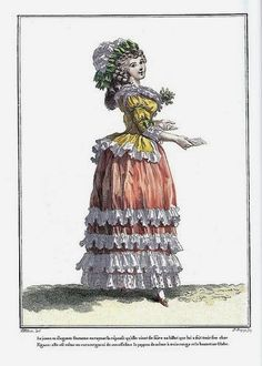i love historical clothing: georgian women's fashion