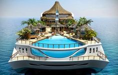 Luxury Tropical Island Yacht