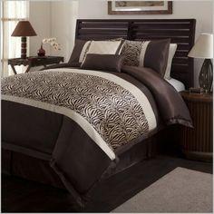 brown-zebra-print-comforter-set.jpg (648×648)