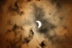 A photo of the solar eclipse taken by Rick Sprain in his back yard off Robin Drive in Prescott Monday, Aug. 21, 2017. (Rick Sprain/Courtesy)