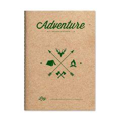 Adventure Mountain – 1/1 Improve Yourself, Adventure, Notebooks, Journals, Writing, Scrapbooks, Mountain, Notebook, Scrapbooking