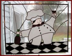 Stained glass panel by Ichiro Tashiro of Tokyo, Japan. Description from…