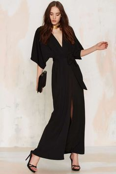 Glamorous Tallulah Maxi Dress - Black | Shop Clothes at Nasty Gal!