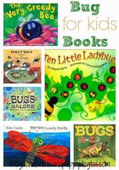 Children Books About Bugs by FSPDT