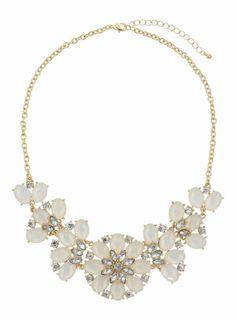 Dorothy PerkinsSparkle Stone Flower Necklace
