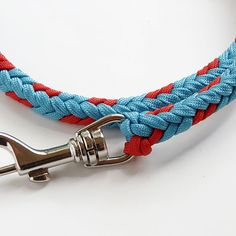 "paracord leash ""Mecate"""