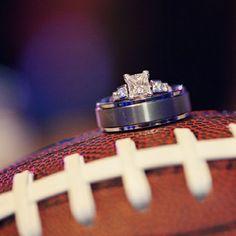 Football Wedding Theme Ideas - Unique Sports Wedding Ideas | Wedding Planning, Ideas & Etiquette | Bridal Guide Magazine Keywords: #weddings #jevelweddingplanning Follow Us: www.jevelweddingplanning.com  www.facebook.com/jevelweddingplanning/