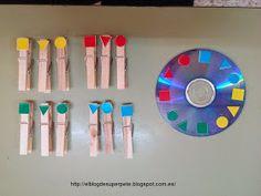 Súper PT: Pinzas, CDs reutilizados y juegos de cartas.