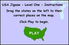 USA Map\