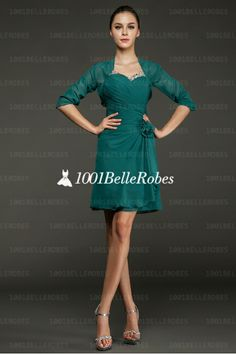 Robe bolero cocktail