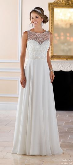 [tps_header] Stella York Spring 2017 bridal collection which brings dramatic elegance and Australian-inspired sophistication to your special day. Each gown is constructed to provide an exceptional fit and give the bod...