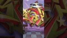 Graffiti Mural Bishoro en Las gabias 2017