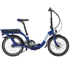 Dahon Ciao Ei7 Elektrische Vouwfiets Blauw