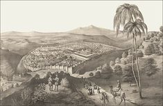 A drawing of ancient Jerusalem. The history of Jerusalem reaches back well over 3,000 years.