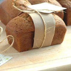 Pumpkin Gingerbread Mini Loaves