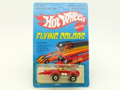 HOT WHEELS FLYING COLORS SPACER RACER #2503 BLISTER FRANÇAIS FRENCH CARD | eBay
