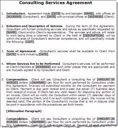 Free Printable Accounting Services Agreement | Sample Printable ...