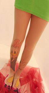 Buy directly from the world's most awesome indie brands. Daisy Duck, Disney Animated Classics, Duck Tattoos, Tattoo Tights, Disney Movies To Watch, Silk Stockings, Modern Disney, Indie Brands, Leggings Are Not Pants