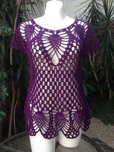 Fabulous Crochet a Little Black Crochet Dress Ideas. Georgeous Crochet a Little Black Crochet Dress Ideas. Black Crochet Dress, Crochet Tunic, Lace Knitting, Crochet Clothes, Crochet Lace, Knitting Patterns, Lace Skirt Outfits, Mode Crochet, Diy Crafts Crochet