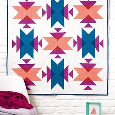 At long last, I can share my Emblematic quilt, out now in issue 42 of @lovequiltingmag! This is probably my most favourite make of the year, just saying. ••• Kona from @handmadebyemily, Aurifil thread from @msmidge ••• #robertkaufman #konasolids #aurifil #modernquilting #modernmaker #melbournemakers #madeinmelbourne #modernmakersquilt #quiltlove #quilter#modernaussiequilter #handmadequilt#quiltsofinstagram #quiltersofinstagram #makemodern #aussiequilter #quiltspiration #patchwork