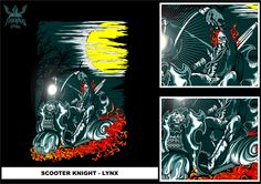 Inspired by ghost rider's story