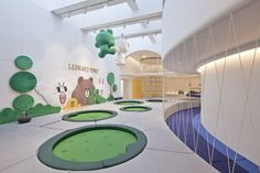 IinKids with Linefriends is a 880 square-metre (approx. 9,500 sq.ft) children's indoor playground in the Beijing Yintai Centre in 01 luxury shopping mall. It is a fresh and startlingly white playground created by the developers and operators of the mall, Beijing Yusheng Yintai Business Management Co.Ltd, and Line Friends Images of Korea. The Linefriends characters …