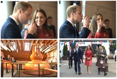 Duke And Duchess Of Cambridge Officially Re-Open Scotland's Oldest Distillery | Glenturret Distillery home to The Famous Grouse Experience |...