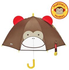 Skip Hop Zoobrella Little Kid Umbrella Kids Umbrellas, Kids Backpacks, Baby Room Decor, Baby Gear, Shower Gifts, Cool Kids, Monkey, Baby Kids, Whimsical
