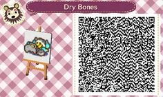 Dry Bones here is just...errr...um resting, yea thats it >.> xD  #acnl #animalcrossing #newleaf #nintendo #3DS