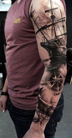 30 coole Ärmel Tattoo Designs - - tattoo old school tattoo arm tattoo tattoo tattoos tattoo antebrazo arm sleeve tattoo Trendy Tattoos, Popular Tattoos, Tribal Tattoos, Tattoos For Guys, Colorful Tattoos, Geometric Tattoos, Tattoos Pics, Tattoo Images, Best Tattoos For Men
