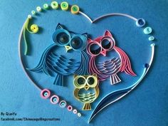 By Chinese quilling creations