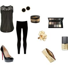 Night out /// simple & glamorous